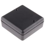 Hammond 1593 Black ABS Enclosure, 66 x 66 x 28mm
