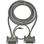 Beijer Electronics Cable 3m For Use With HMI E Series, PLC MELSEC A, MELSEC AnS, MELSEC FX