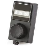 Vishay Potentiometer Knob, Dial Type, 17.7mm Knob Diameter, Black, 6.35mm Shaft