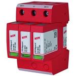 Dehn DG Series 1000 V Maximum Voltage Rating 25kA Maximum Surge Current Type 2 Arrester, DIN Rail Mounting