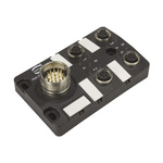 Harting Har-SAB Series M23 Sensor/Actuator Box, 4 Port
