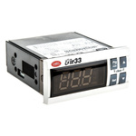 Carel IR33 Panel Mount PID Temperature Controller, 76.2 x 34.2mm, 4 Output SSR, 24 V ac/dc, 115 → 230 V ac, 12