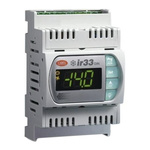 Carel DN33 PID Temperature Controller, 144 x 70mm, 2 Output Relay, 12 → 24 V ac, 12 → 30 V dc Supply