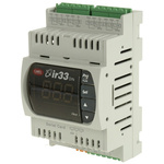Carel DN33 PID Temperature Controller, 144 x 70mm, 4 Output Relay, 12 → 24 V ac, 12 → 30 V dc Supply
