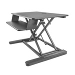 Startech Sit-Stand Desk Converter, Max 30in Monitor
