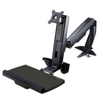 Startech Sit Stand Monitor Arm, Max 24in Monitor With Extension Arm