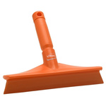 Vikan Orange Squeegee, 104mm x 245mm x 50mm, for Food Preparation Surfaces