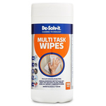 Mykal Industries Wet Wet Wipes for General Cleaning Use, Dispenser Box of 100