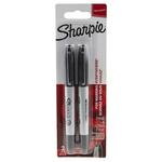 Sharpie Twin Tip Black Marker Pen