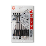 Zebra Black Ball Point Pen