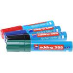 Edding Broad, Extra Broad, Medium Tip Assorted Marker Pen