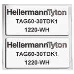 HellermannTyton Panel Marking 596-00566 TAG35-18TDK1-1220-WH-1220-WH (1000)