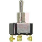 Switch; Toggle; 1 pole; 3 position; Screw terminal; Standard Lever