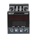 West Instruments N6600 PID Temperature Controller, 48 x 48 (1/16 DIN)mm, 1 Output Relay, 100 V ac, 240 V ac Supply