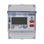 Legrand EMDX3 3 Phase LCD Digital Power Meter with Pulse Output, Type Electronic