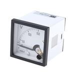 HOBUT AC Analogue Voltmeter, 150V, 45 x 45 mm,