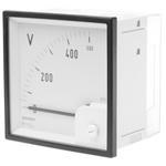 GILGEN Muller & Weigert AC Analogue Voltmeter, 500V, 92 x 92 mm, Class 1.5 Accuracy
