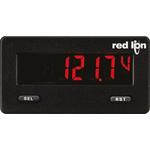 Red Lion Digital Voltmeter DC, LCD Display 5-Digits ±0.1 %, 68 x 33 mm