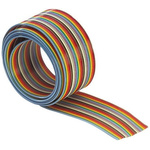 Harting 24 Way Unscreened Flat Ribbon Cable, 30.21 mm Width, 30m