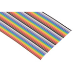 Harting 40 Way Unscreened Flat Ribbon Cable, 50.53 mm Width, 30m