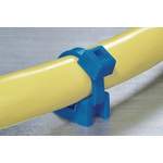 HellermannTyton Blue Cable Tie Mount 11.8 mm x 17.8mm, 6.4mm Max. Cable Tie Width