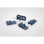 HellermannTyton Blue Cable Tie Mount 10.3 mm x 20.7mm, 5mm Max. Cable Tie Width