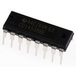Texas Instruments CD14538BE, Dual Monostable Multivibrator, 16-Pin PDIP