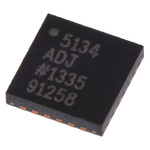 Analog Devices, ADP5134ACPZ-R7 Step-Down Switching Regulator Quad-Channel 300mA Adjustable 24-Pin, LFCSP