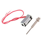 Mecalectro Linear Solenoid, 12 V dc, 0.4N, 30 x 12.7 x 10 mm