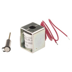 Mecalectro Linear Solenoid, 24 V dc, 1N, 27 x 22 x 20 mm
