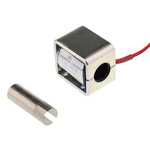 Mecalectro Linear Solenoid, 12 V dc, 2.5N, 35.3 x 31.8 x 25.4 mm
