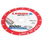 Lenox Aluminium Oxide Cutting Disc, 230mm x 2.1mm Thick, Medium Grade, P60 Grit