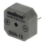 Sonitron 75dB, Through Hole Continuous Internal Buzzer