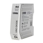 Phoenix Contact UNO-DIODE/5-24DC/2X10/1X20 Series Redundancy module, Redundancy Module for use with Parallel Connection