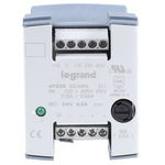 Legrand Linear DIN Rail Panel Mount Power Supply 230V ac Input Voltage, 24V dc Output Voltage, 500mA Output Current, 12W