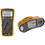 Fluke Multifunction Tester, 50 V, 100 V, 250 V, 500 V, 1000 V  , Earth Resistance Measurement With BLE, USB