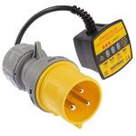 Martindale CP301/32 Socket Tester 16/32A 110V ac CAT II 150 V