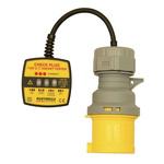Martindale CP301/32 Socket Tester 16/32A 110V ac Cat II 150 V RS Calibration