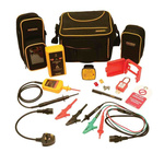 Martindale TB118KIT1 Voltage Indicator & Proving Unit Kit <3.5mA 600V ac/dc, Kit Contents 8mm Clip Locked Out Tag,