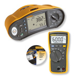 Fluke 1663 UK- DMM Multifunction Tester, 50 V, 100 V, 250 V, 500 V, 1000 V