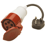 Megger 1000-770 Portable Appliance Tester Lead, For Use With PAT 400