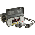 Megger DLRO10 Rechargeable NiMH Ohmmeter, Maximum Resistance Measurement 2000 Ω, Resistance Measurement Resolution