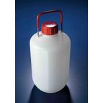 RS PRO 10L HDPE Wide Neck Carboy Bottle