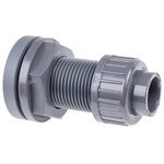Georg Fischer Straight Tank Adapter PVC Pipe Fitting