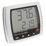 Testo 608-H1 Digital Hygrometer, Max Temperature +50°C, Max Humidity 95%RH