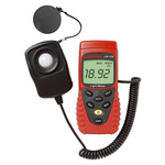 Amprobe LM-120 Light Meter, 20lx to 200000lx, ±6 %, With RS Calibration