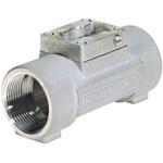 Burkert Stainless Steel In-line Flow Sensor Fitting 3/4in Straight Flow Adapter 3/4BSP