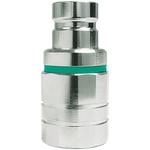 CEJN Brass Process Fitting 1/4in Nipple 1/4BSP