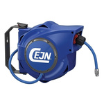 CEJN 1/4 in BSPT 8mm Hose Reel 16 bar 7m Length, Wall Mounting