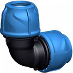 Georg Fischer 90° 90° Elbow PVC Pipe Fitting, 20mm